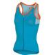 Castelli Solare Mouwloof Fietsshirt Dames blauw